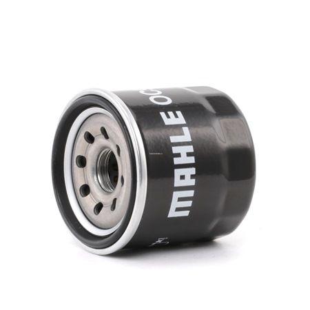 MAHLE ORIGINAL: Original Motorölfilter OC 996 (Innendurchmesser 2: 54mm, Außendurchmesser 2: 62mm, Ø: 66,0mm, Höhe: 75mm)