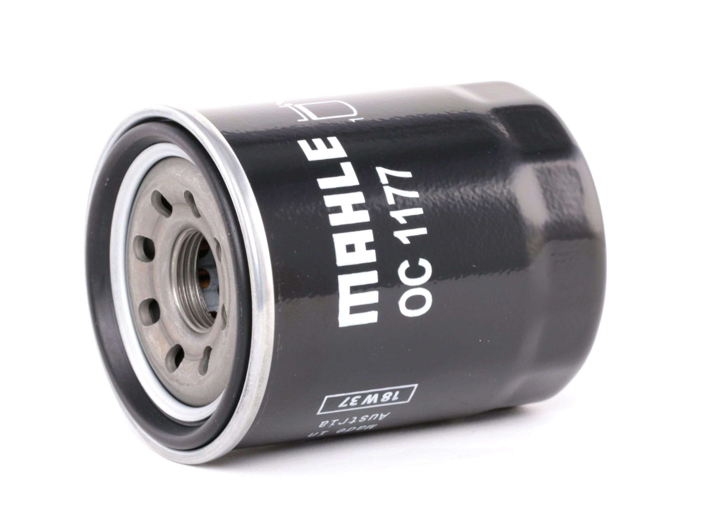 70596667 MAHLE ORIGINAL Anschraubfilter Innendurchmesser 2: 52mm, Innendurchmesser 2: 52mm, Ø: 65,5mm, Außendurchmesser 2: 63mm, Ø: 65,5mm, Höhe: 86mm Ölfilter OC 1177 günstig kaufen