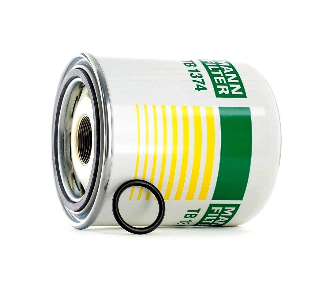 Accesorios y recambios MERCEDES-BENZ VARIO 2015: Cartucho del secador de aire, sistema de aire comprimido MANN-FILTER TB 1374 x a un precio bajo, ¡comprar ahora!