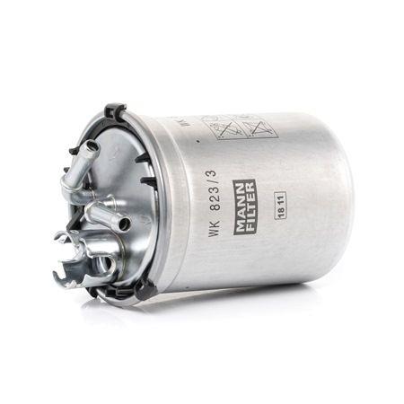 WK 823/3 x MANN-FILTER mit Dichtungen Höhe: 109mm Kraftstofffilter WK 823/3 x günstig kaufen