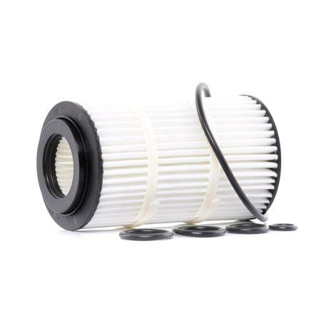 MAHLE ORIGINAL: Original Ölfilter OX 345/7D (Innendurchmesser 2: 31mm, Ø: 64,2mm, Höhe: 115mm) mit vorteilhaften Preis-Leistungs-Verhältnis