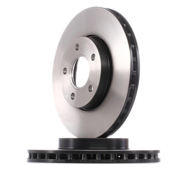 Комплект спирачни дискове DF6138 с добро TRW съотношение цена-качество