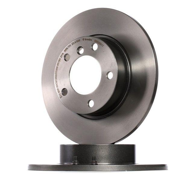 08.5359.11 BREMBO COATED DISC LINE Voll, beschichtet, mit Schrauben Ø: 286mm, Lochanzahl: 5, Bremsscheibendicke: 12mm Bremsscheibe 08.5359.11 günstig kaufen