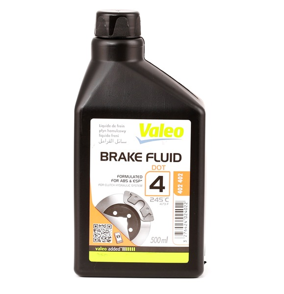 VALEO Brake Fluid Capacity: 0,5l 402402