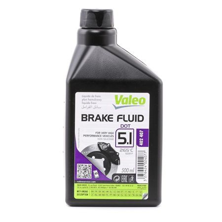 VALEO Brake Fluid Capacity: 0,5l 402407