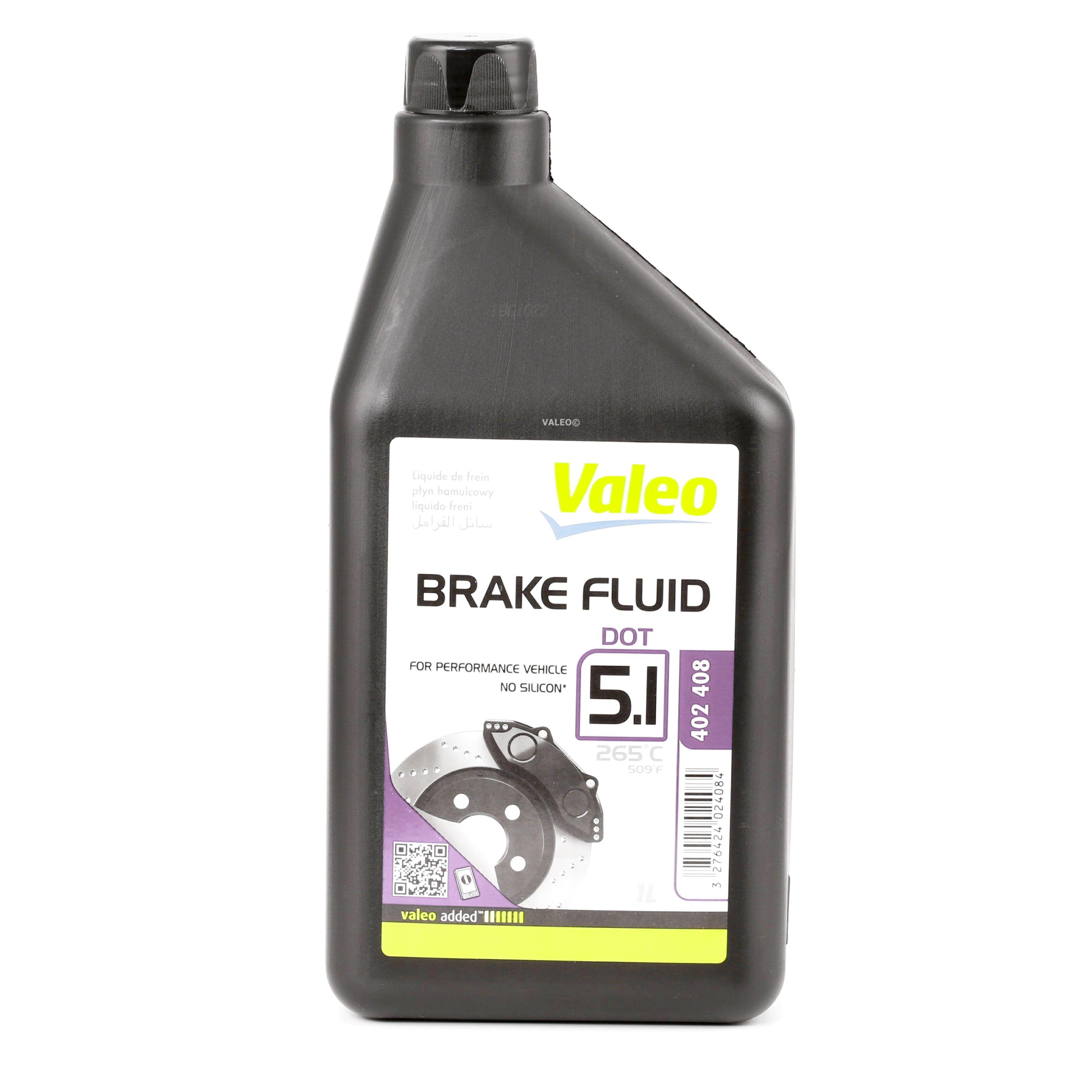Pieces d'origine: Liquide de frein VALEO 402408 (DOT 5.1) - Achetez tout de suite!