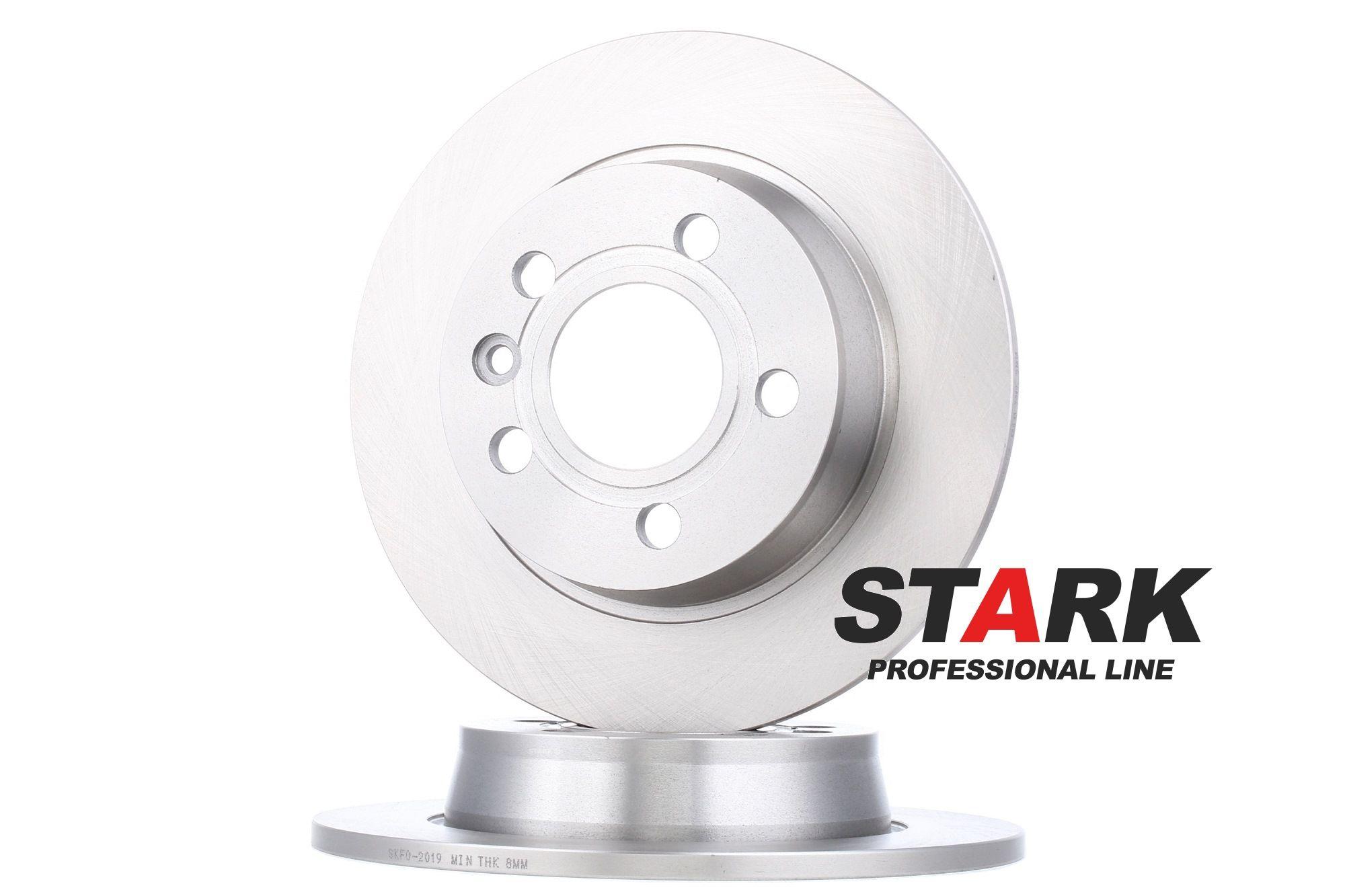 SKFO-2019 STARK Achteras, Massief Ø: 268mm, Remschijfdikte: 10mm Remschijf SKFO-2019 koop goedkoop