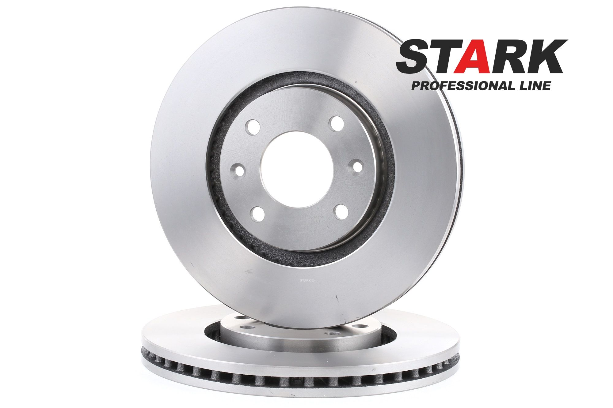 PEUGEOT 1007 2014 Scheibenbremsen - Original STARK SKCI-2021 Ø: 283mm, Bremsscheibendicke: 26mm