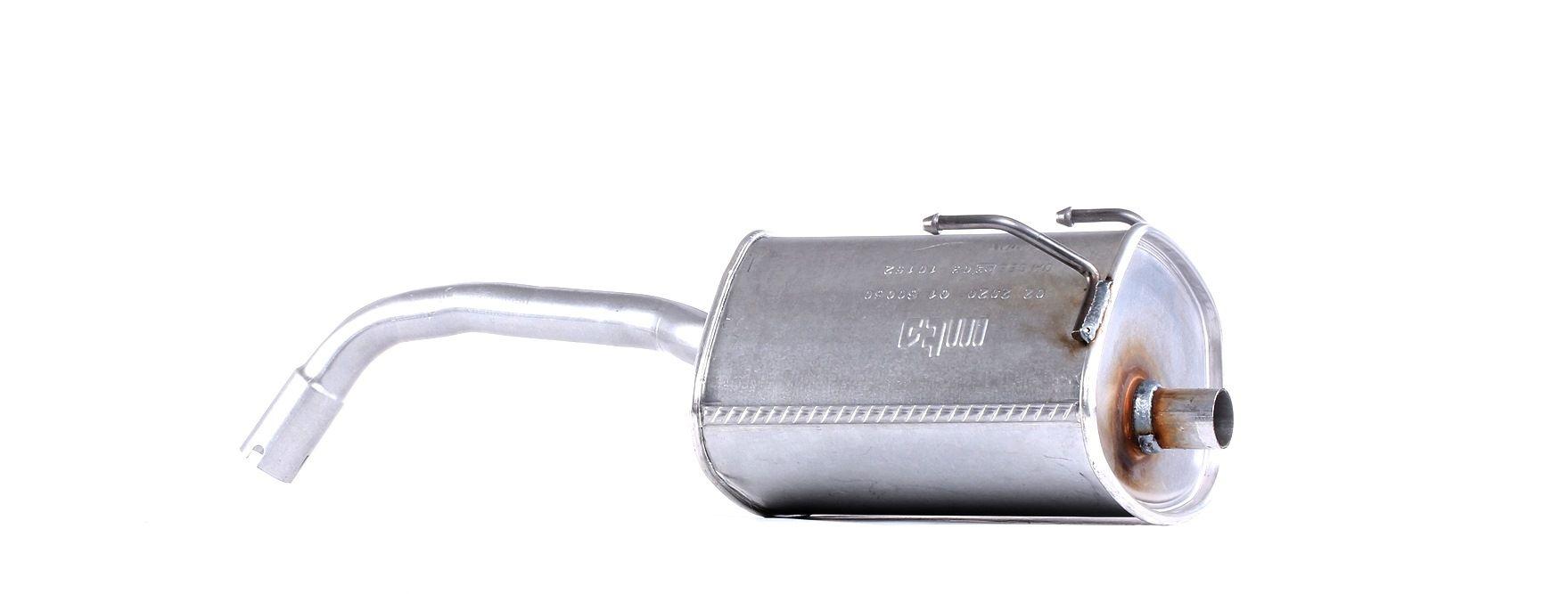 MTS: Original Endschalldämpfer 01.60060 (Länge: 750mm, Länge: 750mm)