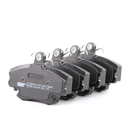 Bremsbelagsatz, Scheibenbremse FDB845B — aktuelle Top OE 77 01 210 130 Ersatzteile-Angebote