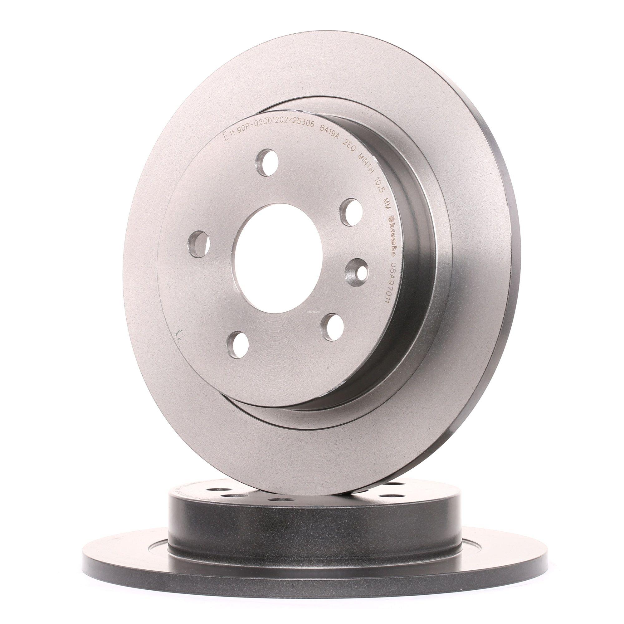 BREMBO: Original Tuning 08.A970.11 (Ø: 292mm, Lochanzahl: 5, Bremsscheibendicke: 12mm)
