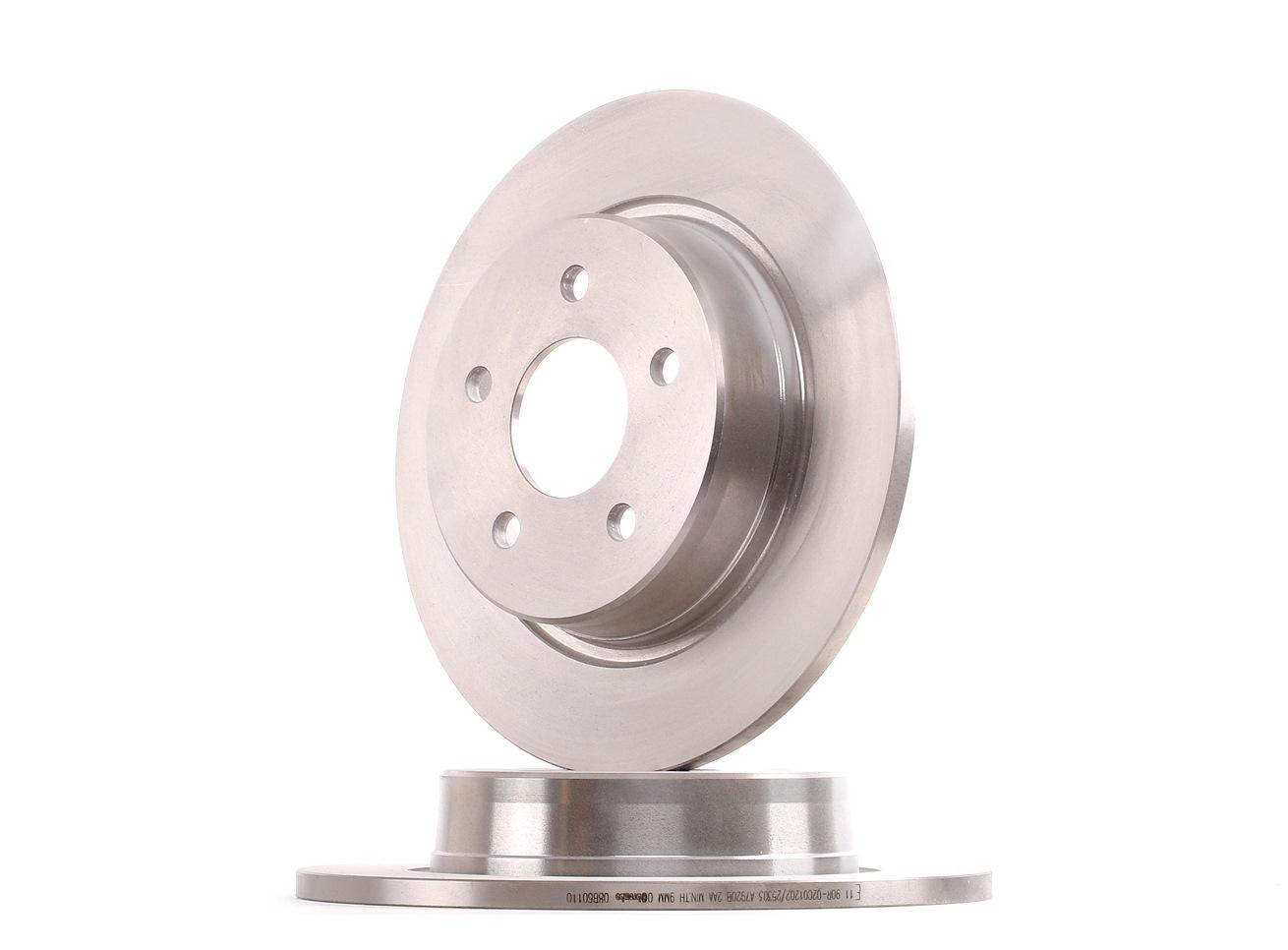 08.B601.10 BREMBO Voll Ø: 280mm, Lochanzahl: 5, Bremsscheibendicke: 11mm Bremsscheibe 08.B601.10 günstig kaufen