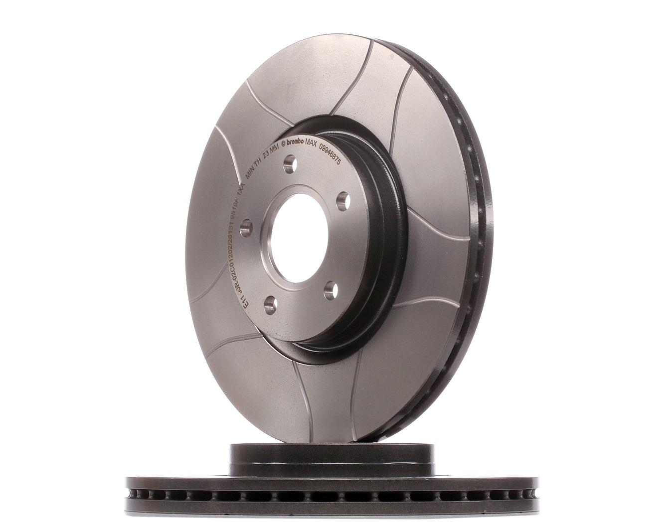 Origine Disques de frein BREMBO 09.9468.75 (Ø: 300mm, Nbre de trous: 5, Épaisseur du disque de frein: 25mm)