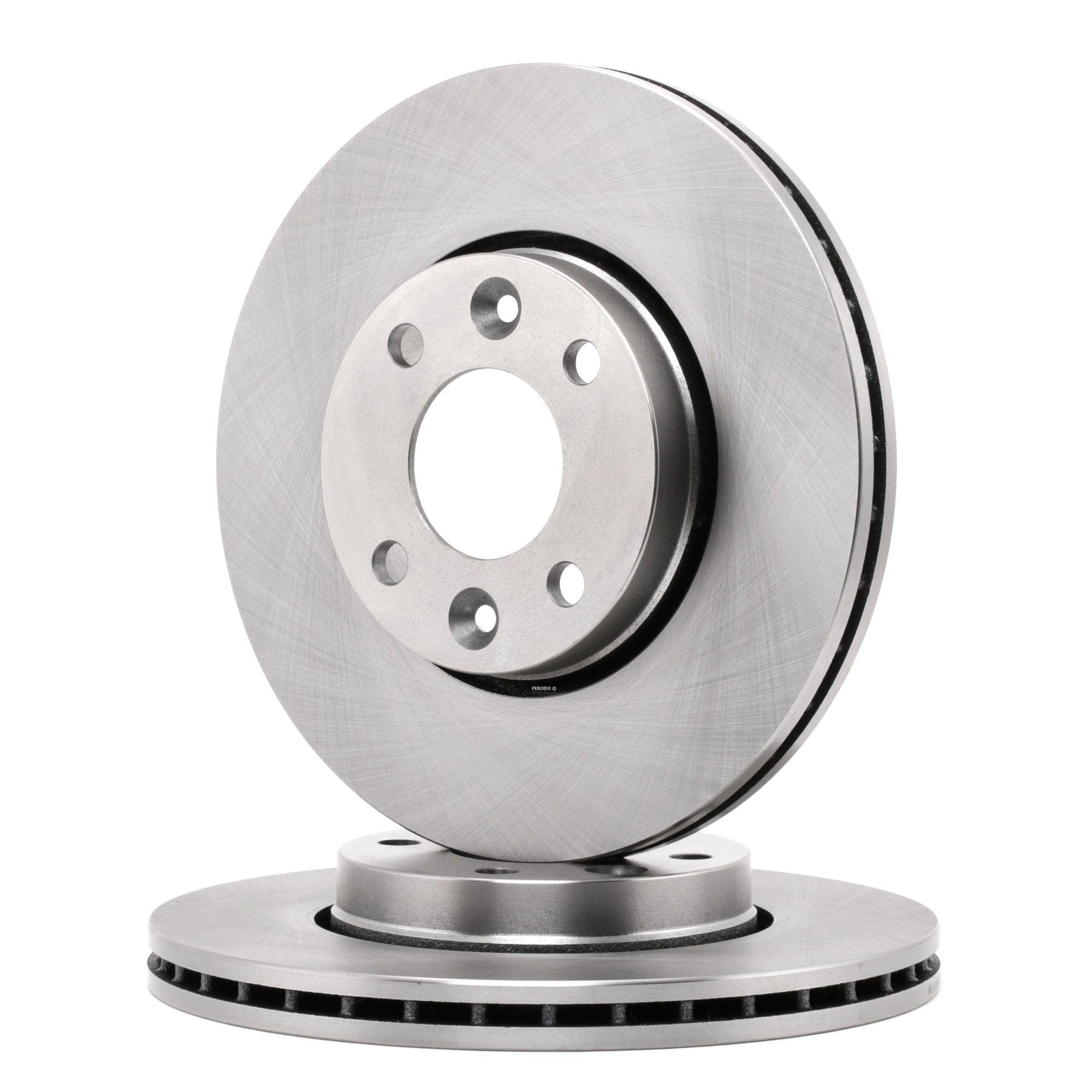 FERODO: Original Tuning DDF1201 (Ø: 260mm, Lochanzahl: 4, Bremsscheibendicke: 22mm)