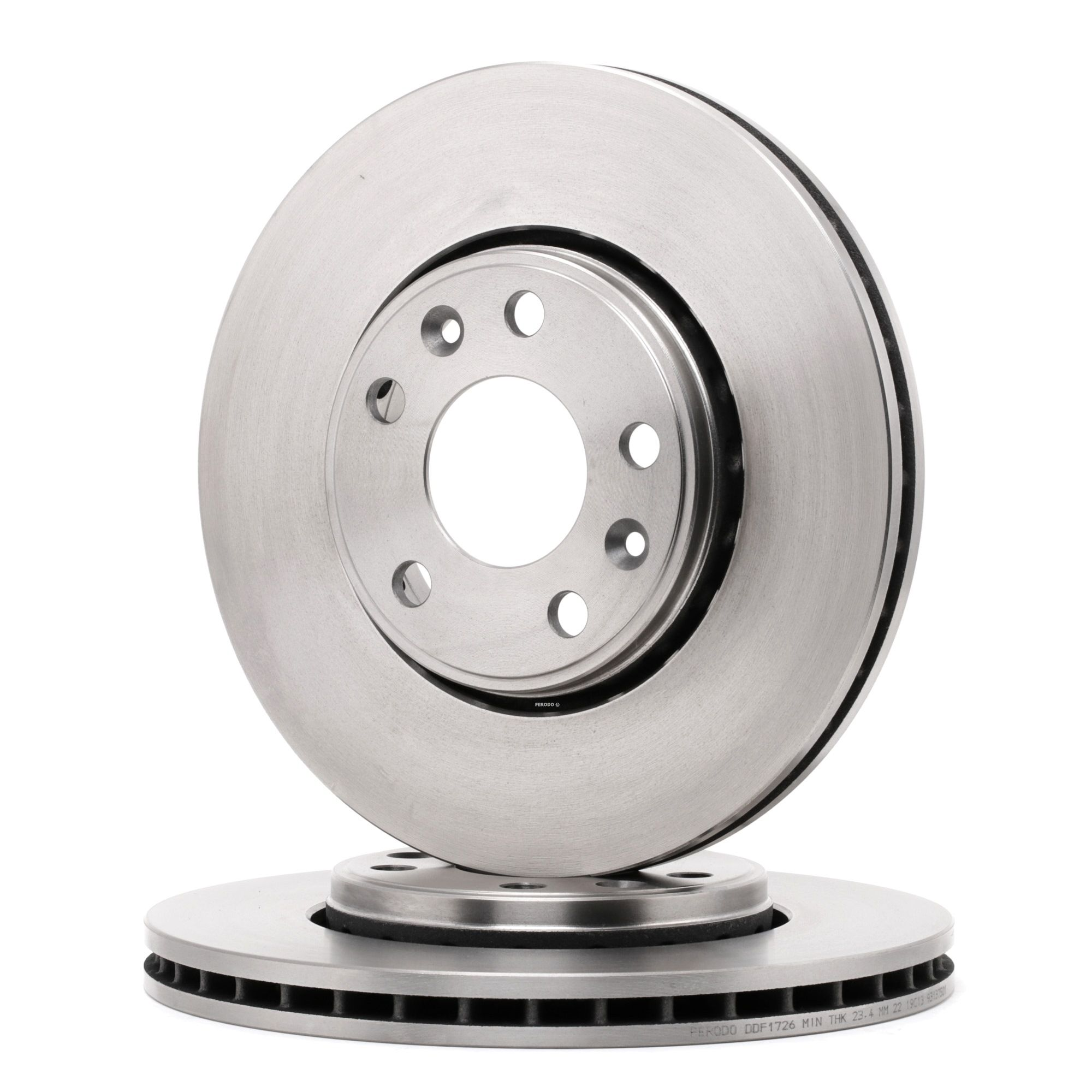 Achetez Disques de frein FERODO DDF1726 (Ø: 296mm, Nbre de trous: 5, Épaisseur du disque de frein: 26mm) à un rapport qualité-prix exceptionnel