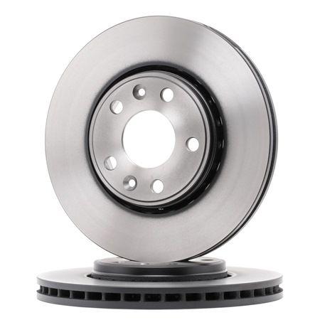 Origine Disque TRW DF6184 (Ø: 296mm, Nbre de trous: 5, Épaisseur du disque de frein: 26mm)