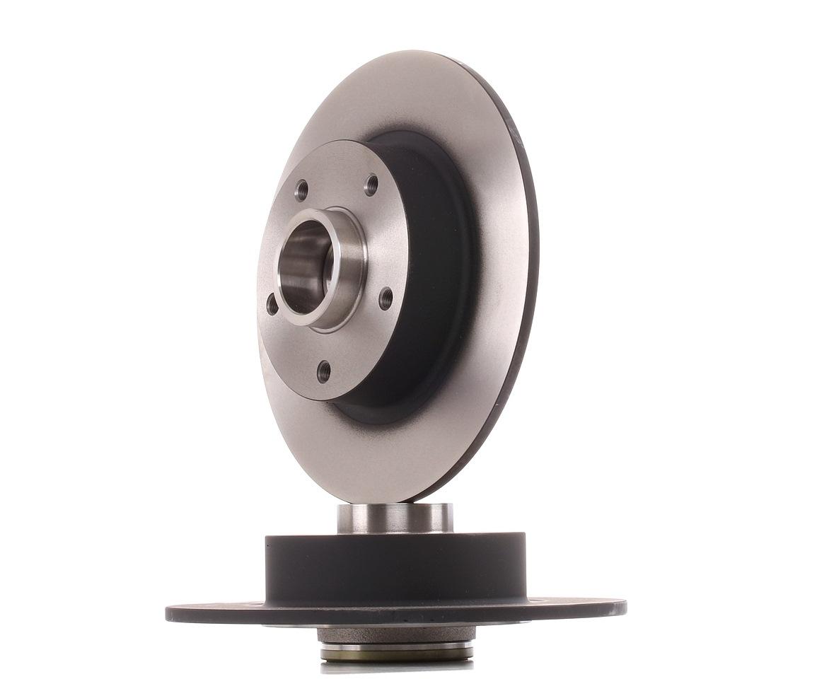 Achetez Disque TRW DF6190BS (Ø: 260mm, Nbre de trous: 5, Épaisseur du disque de frein: 8mm) à un rapport qualité-prix exceptionnel