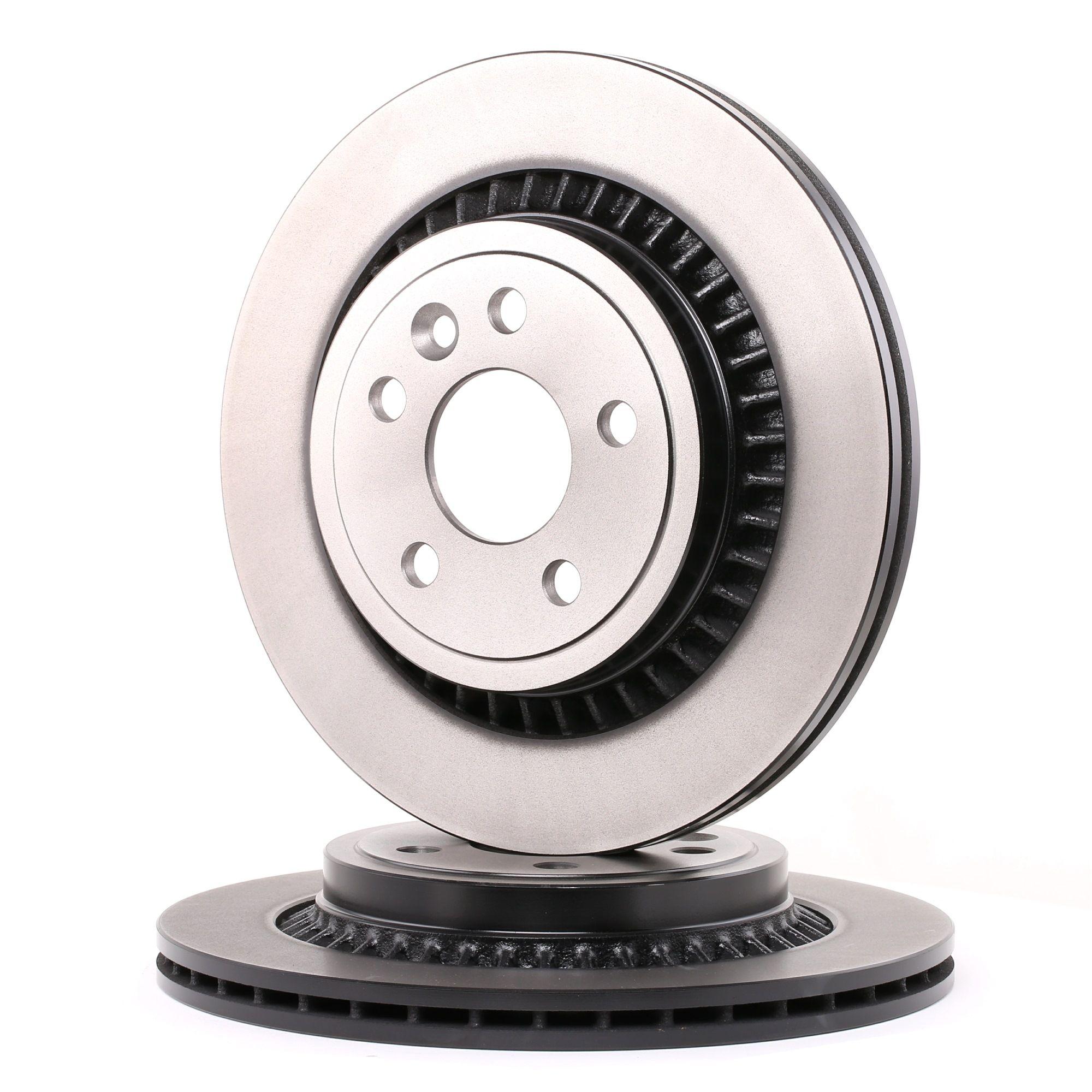 DF6308 TRW belüftet, lackiert Ø: 302mm, Lochanzahl: 5, Bremsscheibendicke: 22mm Bremsscheibe DF6308 günstig kaufen