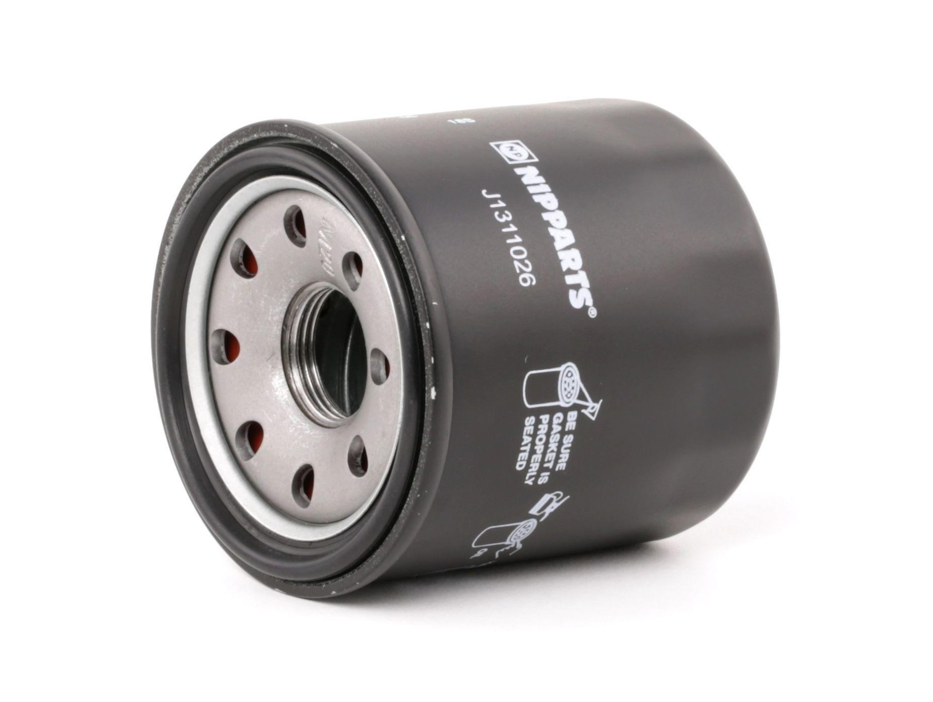 J1311026 NIPPARTS Anschraubfilter Innendurchmesser 2: 54mm, Ø: 65mm, Höhe: 71mm Ölfilter J1311026 günstig kaufen