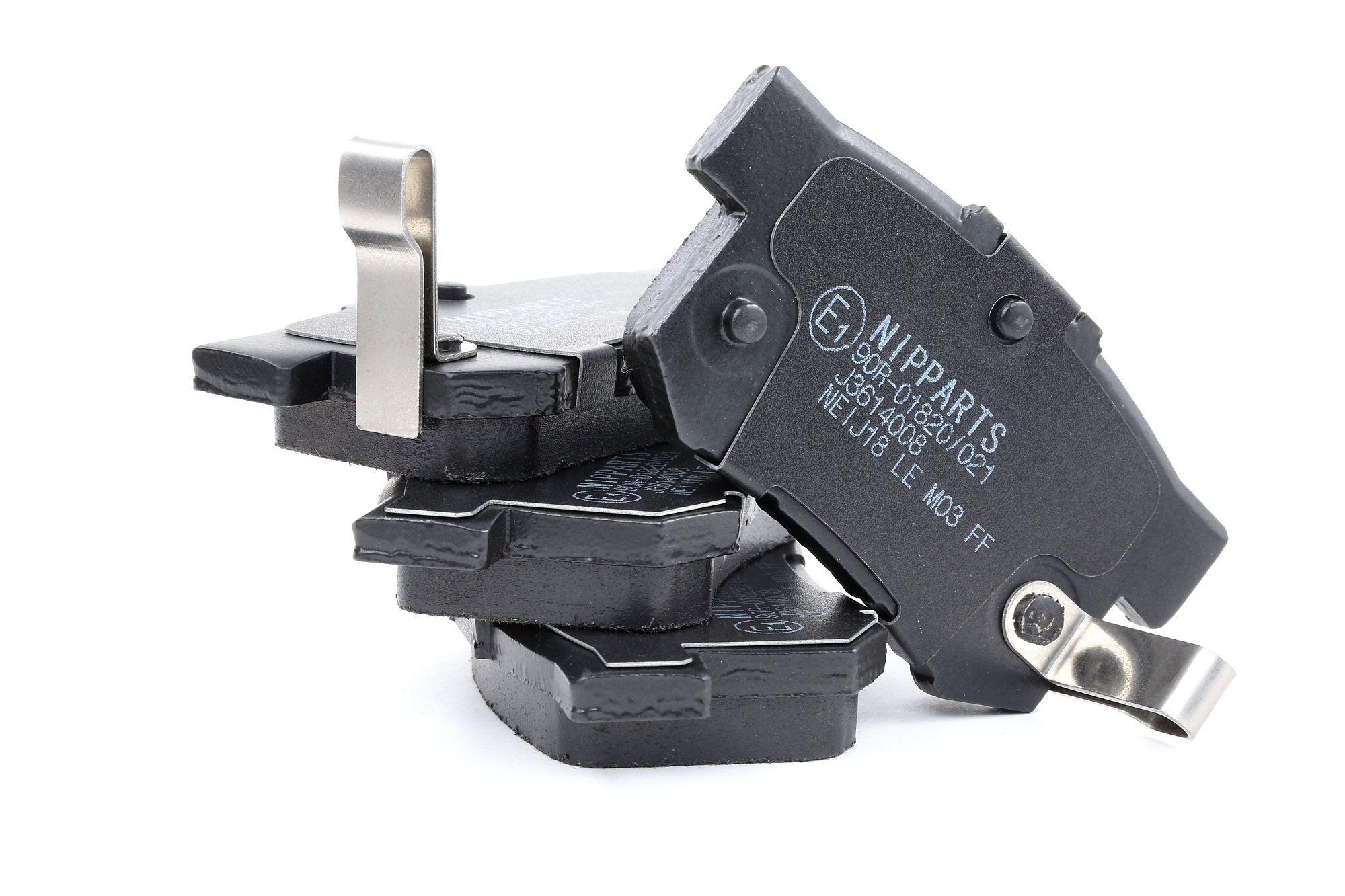 NIPPARTS: Original Bremsbelagsatz Scheibenbremse J3614008 (Dicke/Stärke: 14,6mm)