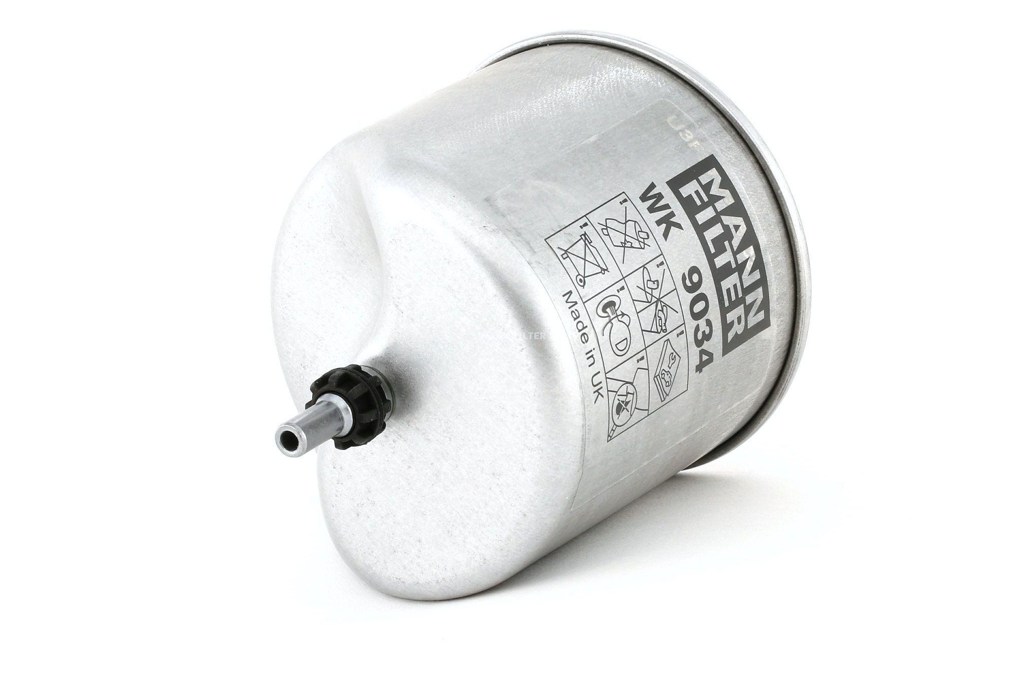 Acquistare ricambi originali MANN-FILTER Filtro carburante WK 9034 z