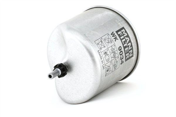 Brændstoffilter WK 9034 z med et enestående MANN-FILTER pris-ydelses-forhold