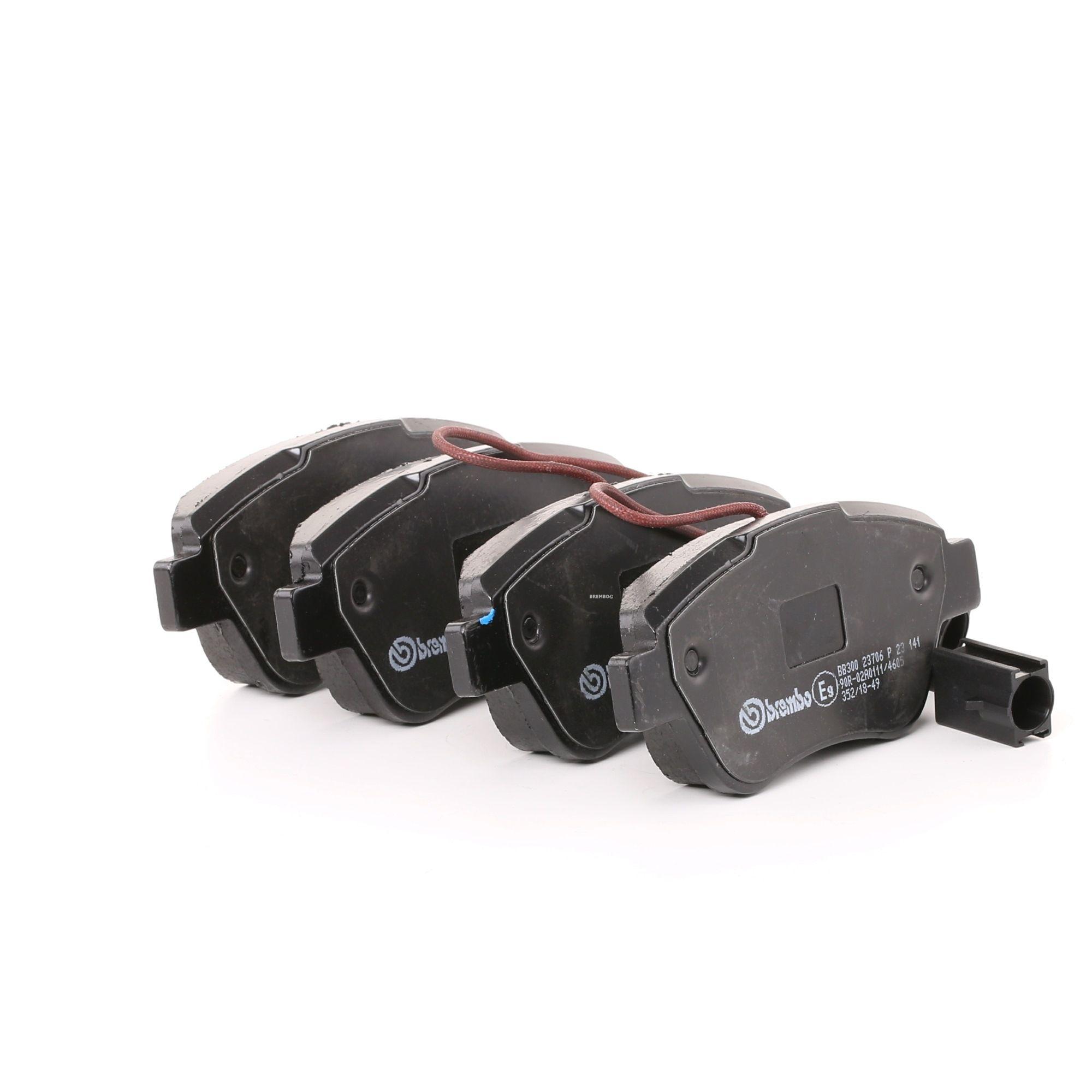Buy original Brake pad set BREMBO P 23 141