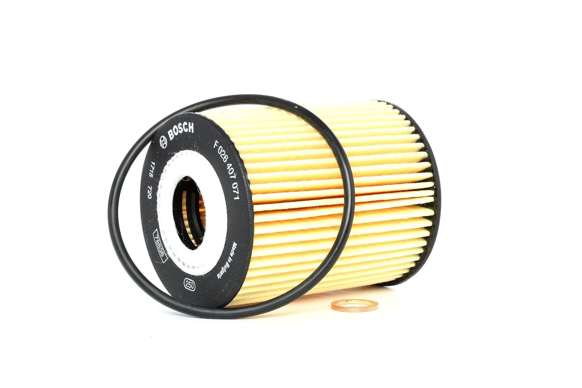 P7071 BOSCH Filtereinsatz Ø: 66mm, Höhe: 83mm Ölfilter F 026 407 071 günstig kaufen