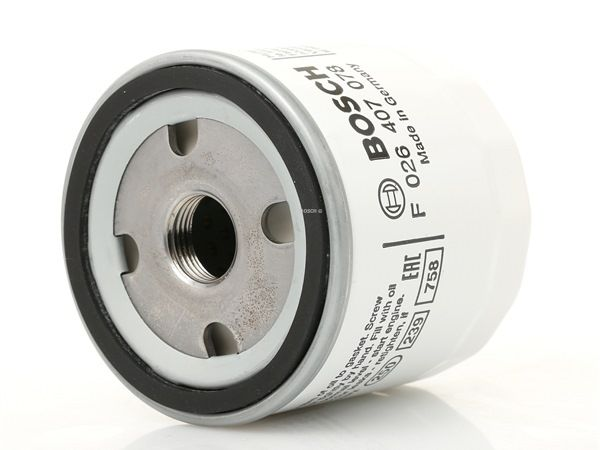 Oil Filter F 026 407 078 for MAZDA 2 at a discount — buy now!