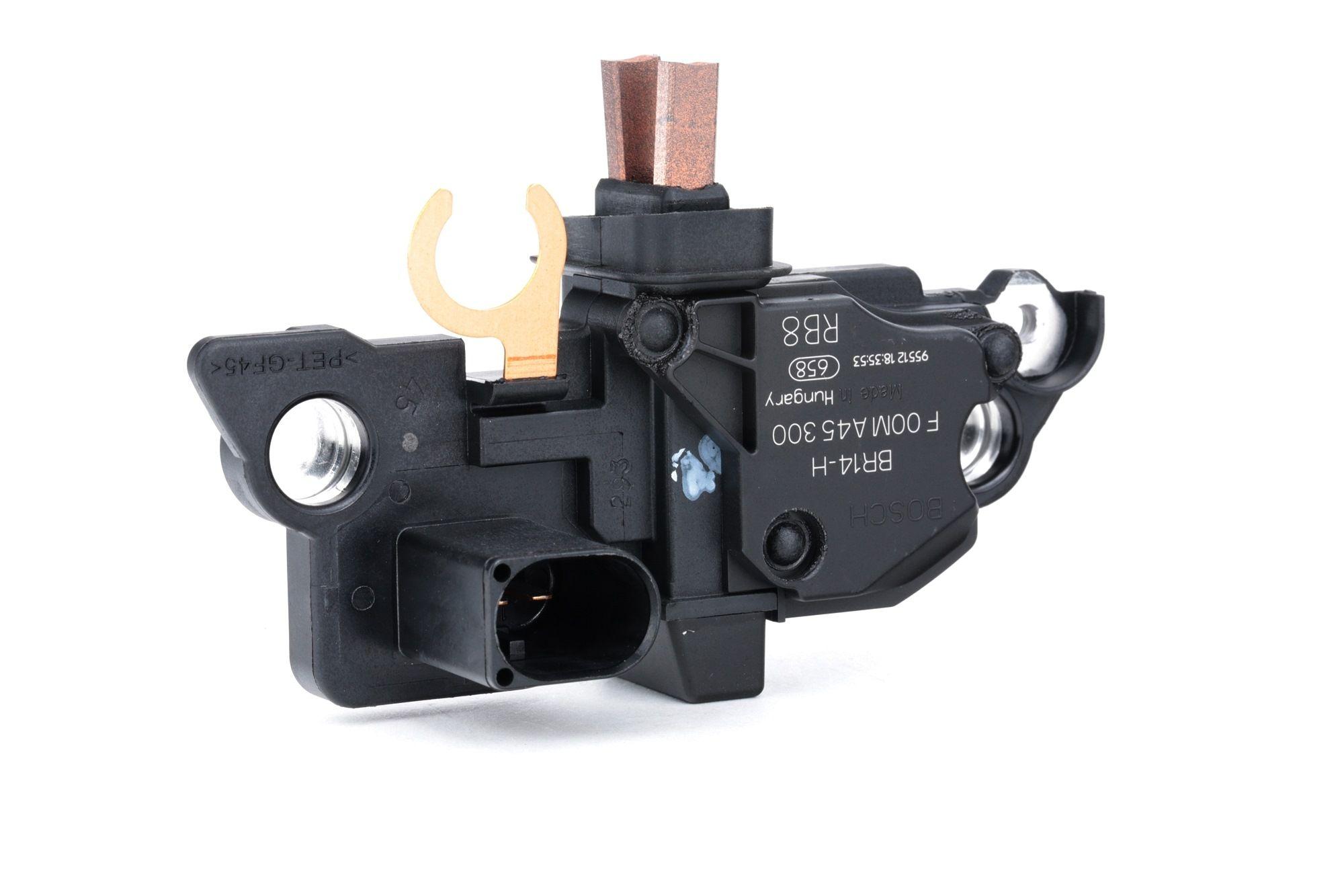 Car spare parts VW TRANSPORTER 2012: Alternator Regulator BOSCH F 00M A45 300 at a discount — buy now!