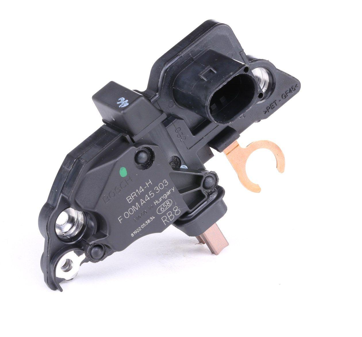 Pieces detachees VW GOL G3 2001 : Régulateur d'alternateur BOSCH F 00M A45 303 — profitez des offres tout de suite!