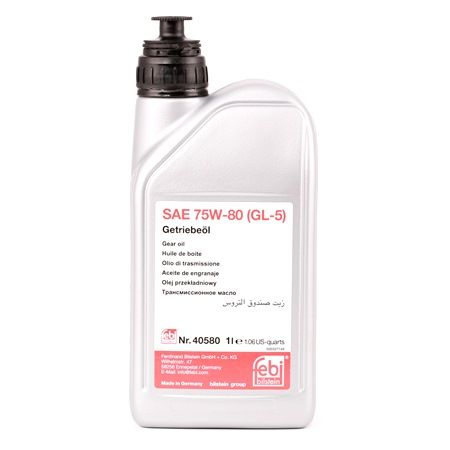 Transmission Oil 40580 for VW PHAETON at a discount — buy now!