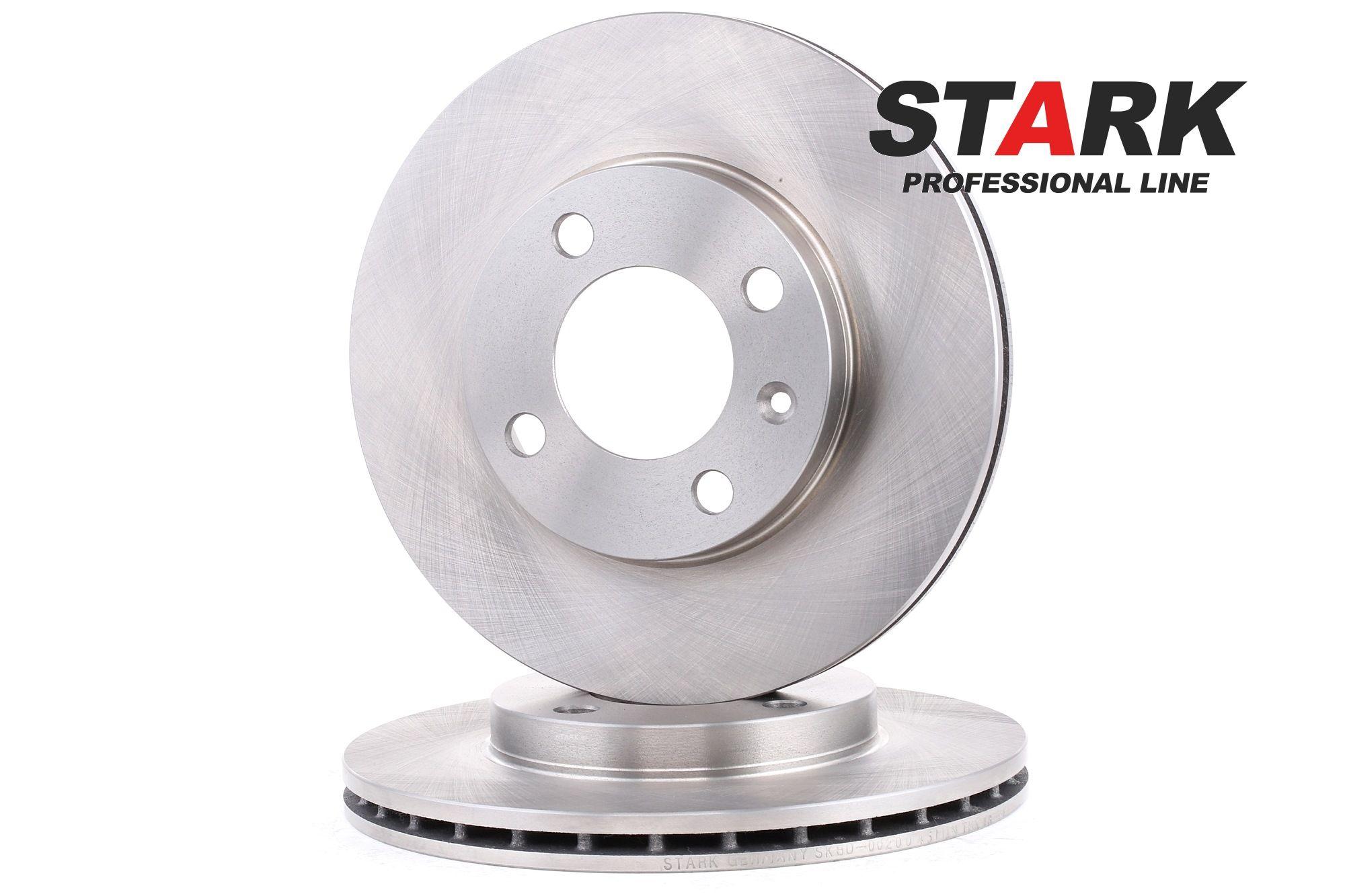 Achetez Tuning STARK SKBD-0020045 (Ø: 239mm, Nbre de trous: 4, Épaisseur du disque de frein: 20mm) à un rapport qualité-prix exceptionnel