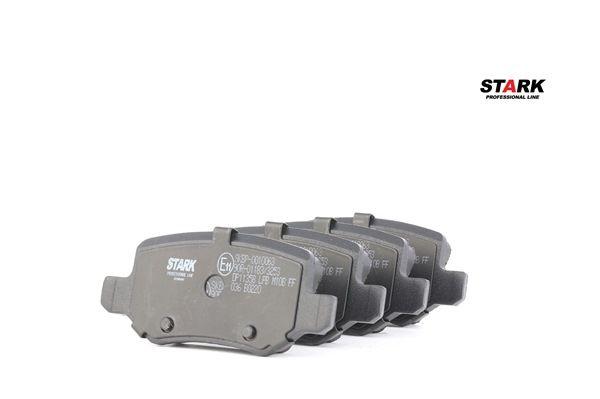 STARK SKBP0010063 Bremssteine Mercedes W168 A 160 CDI 1.7 (168.007) 1998 60 PS - Premium Autoteile-Angebot