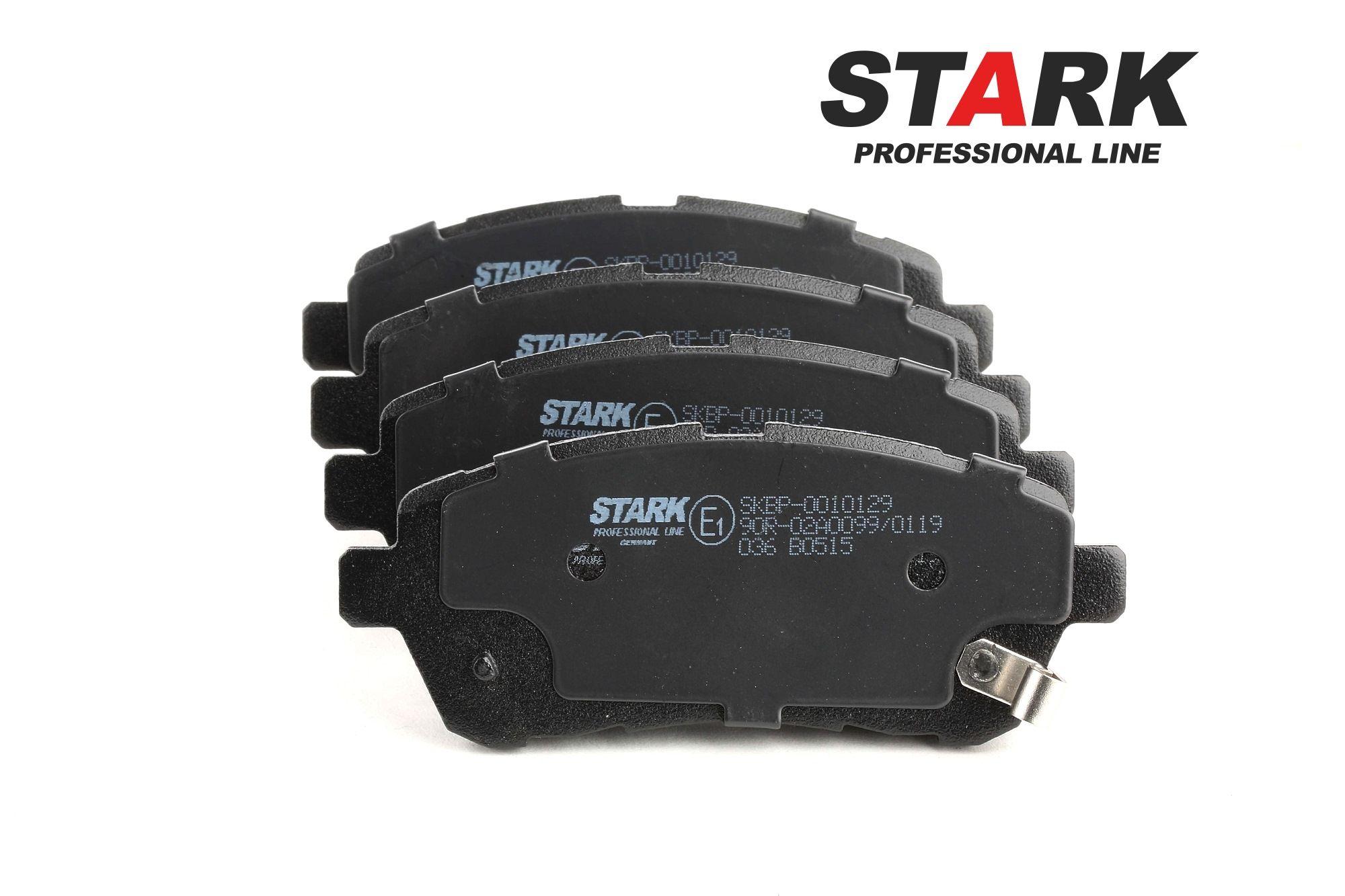 DAIHATSU MATERIA 2020 Bremsbelagsatz - Original STARK SKBP-0010129 Höhe: 51,7mm, Dicke/Stärke: 15,3mm