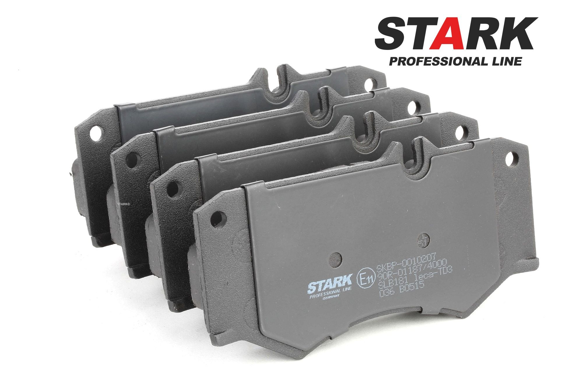MERCEDES-BENZ T2 1993 Bremsbelagsatz - Original STARK SKBP-0010207 Höhe: 75mm, Breite: 149mm, Dicke/Stärke: 18mm