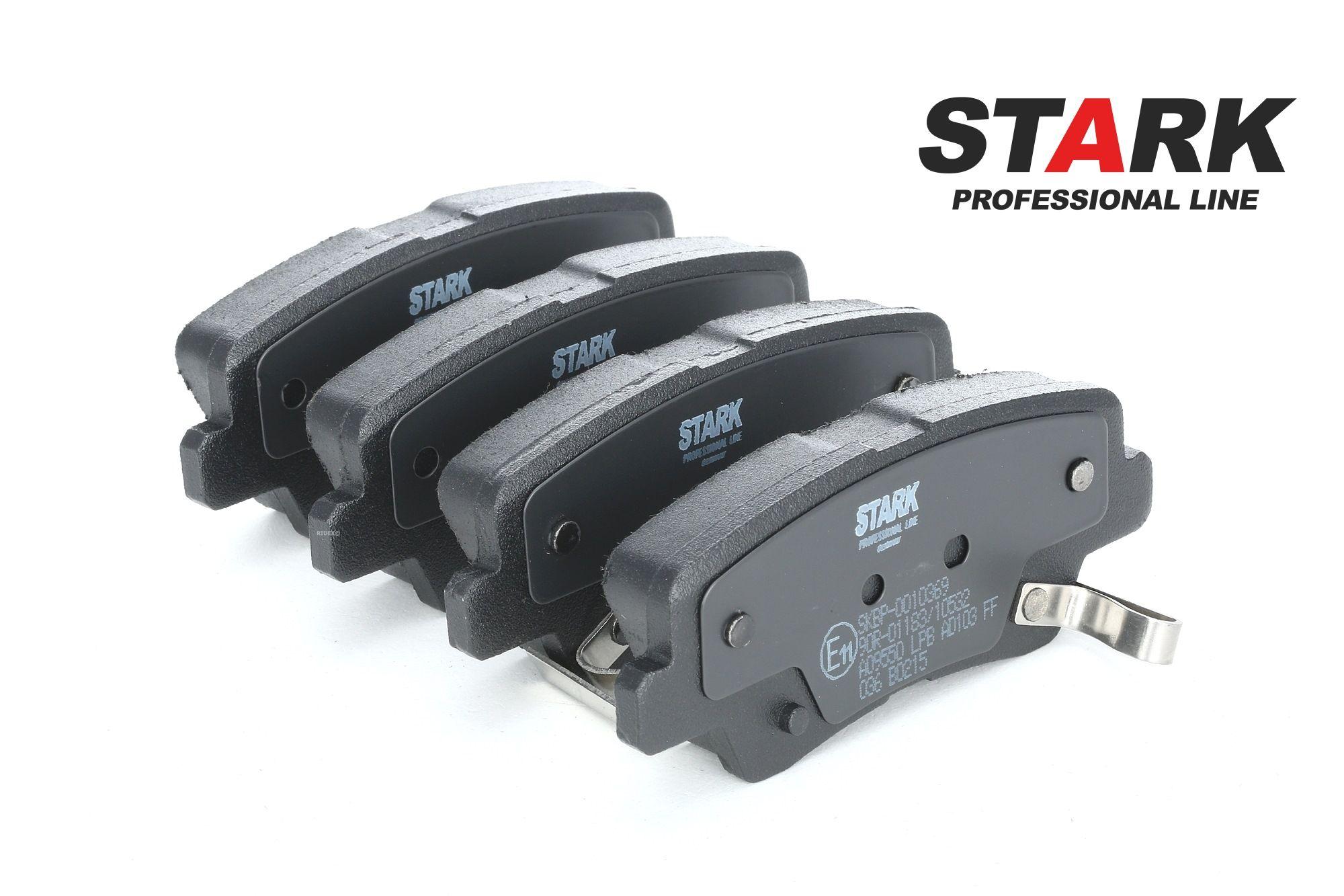 SSANGYONG ACTYON 2018 Bremssteine - Original STARK SKBP-0010369 Höhe: 40,8mm, Breite: 99,9mm, Dicke/Stärke: 15,7mm