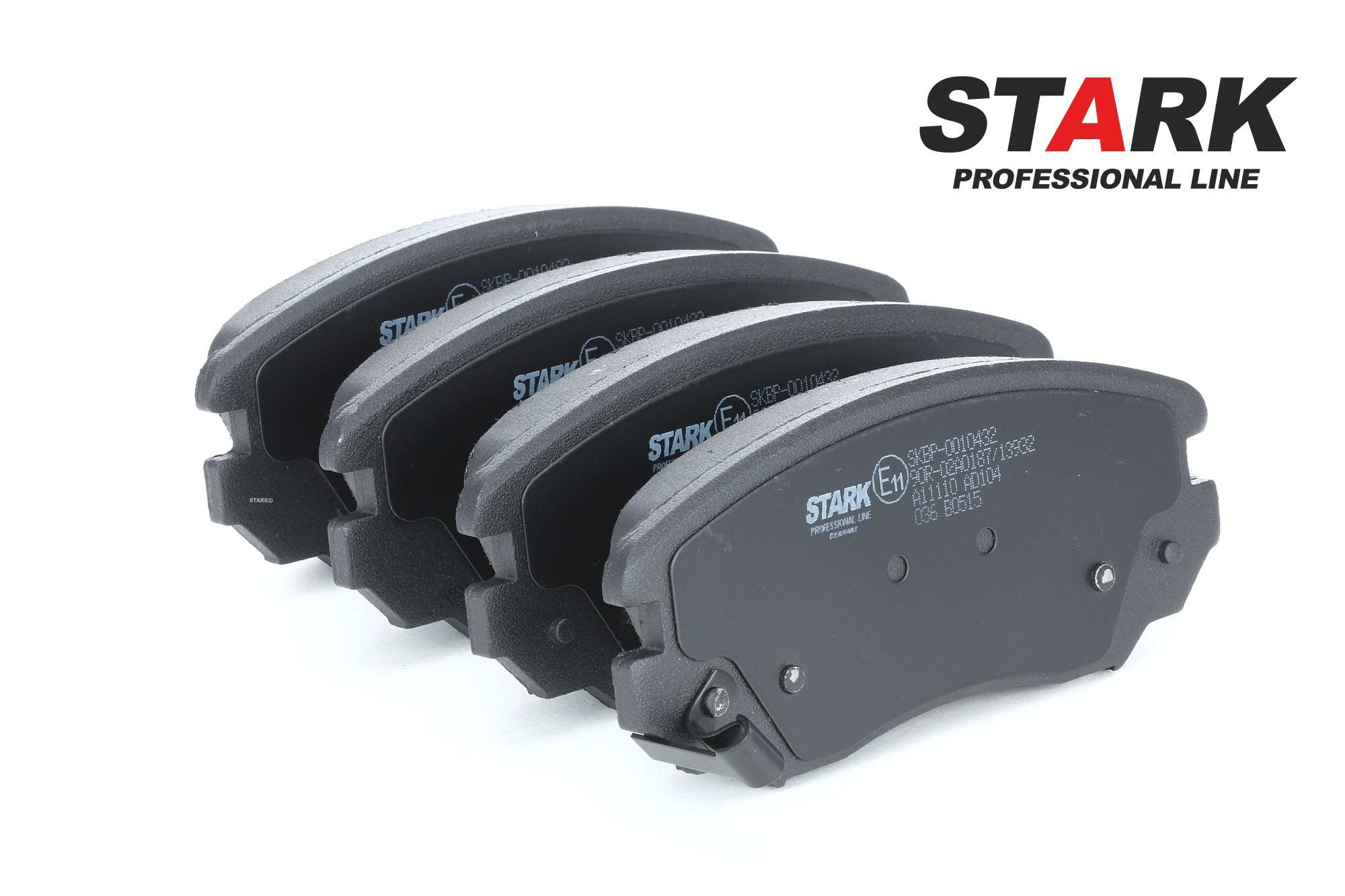 STARK: Original Bremsbeläge SKBP-0010432 (Höhe: 59,6mm, Dicke/Stärke: 19mm)