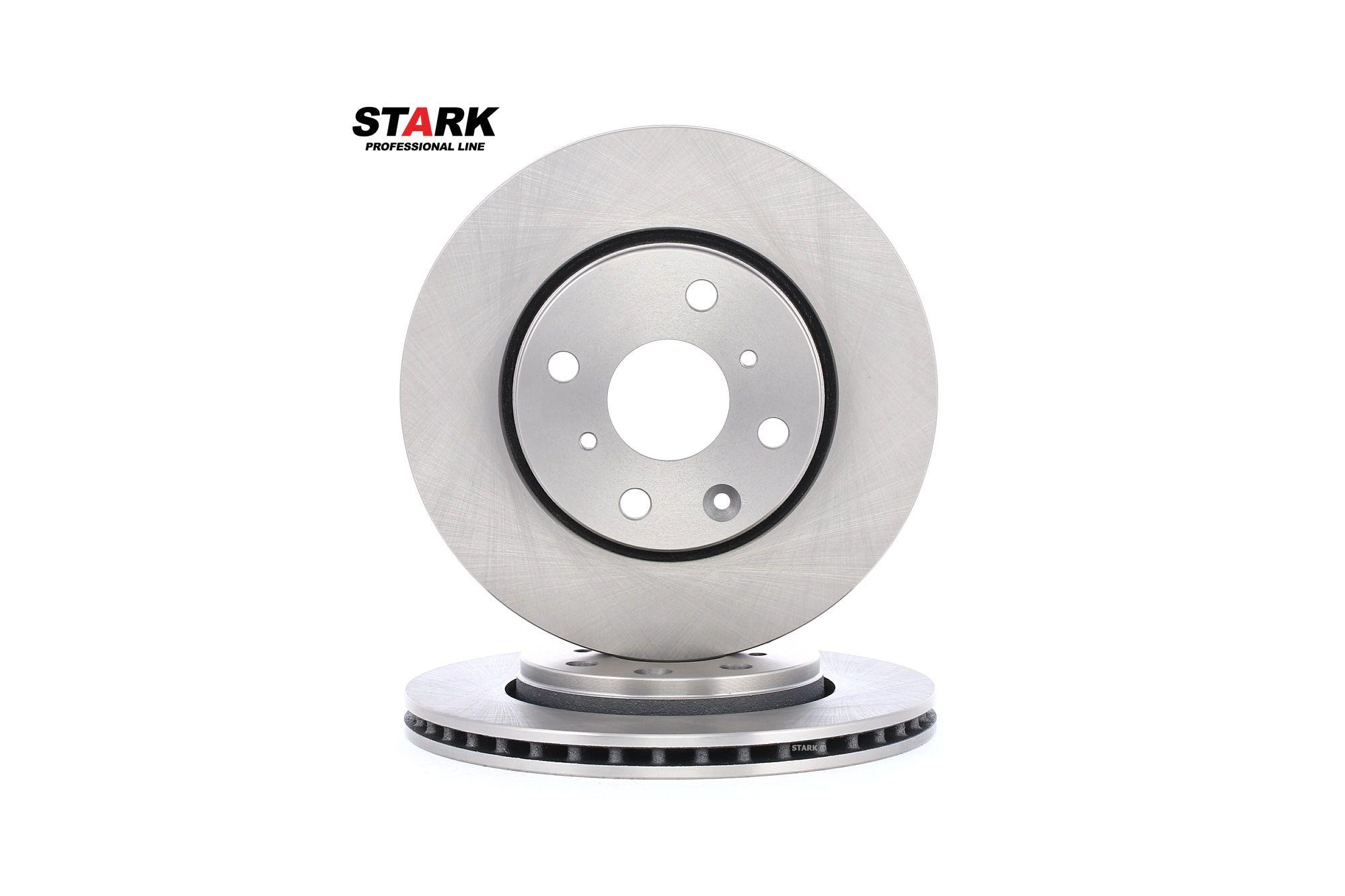 SKBD-0020051 STARK Vorderachse, belüftet Ø: 247mm, Lochanzahl: 4, Bremsscheibendicke: 20mm Bremsscheibe SKBD-0020051 günstig kaufen
