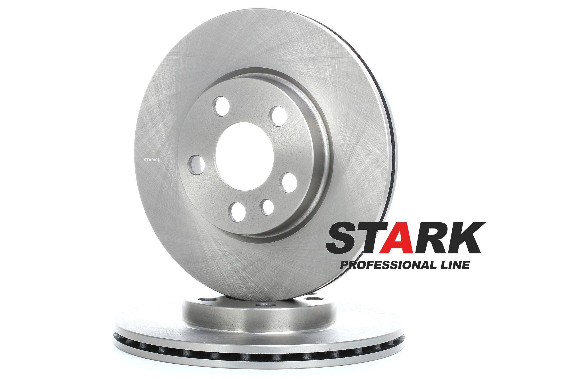 SKBD-0020072 STARK Vorderachse, Innenbelüftet Ø: 257mm, Felge: 5-loch, Bremsscheibendicke: 20mm Bremsscheibe SKBD-0020072 günstig kaufen
