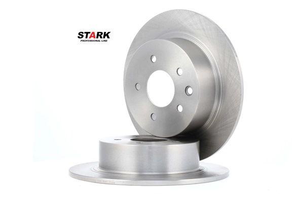 SKBD-0020320 STARK Hinterachse, Voll Ø: 292mm, Lochanzahl: 5, Bremsscheibendicke: 9mm Bremsscheibe SKBD-0020320 günstig kaufen