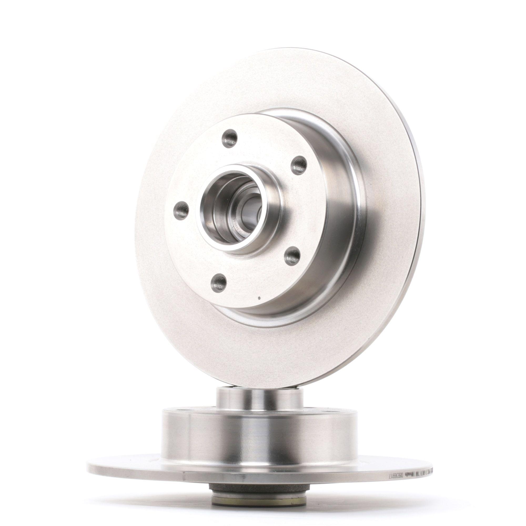 Origine Système de freinage BREMBO 08.B369.17 (Ø: 260mm, Nbre de trous: 5, Épaisseur du disque de frein: 8mm)
