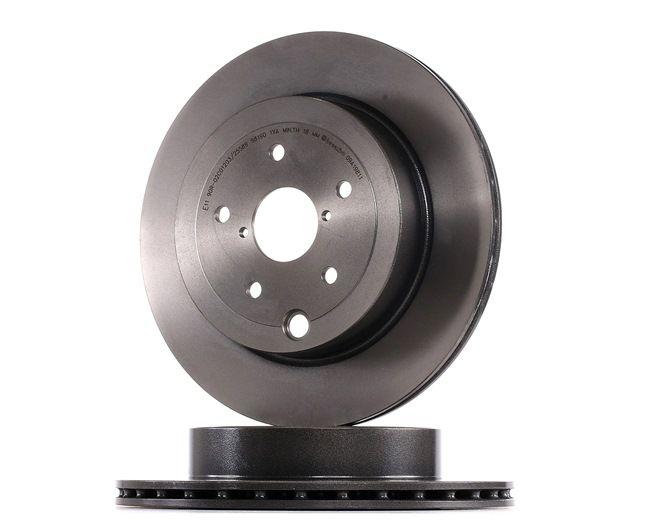 BREMBO Brake Disc 09.A198.11