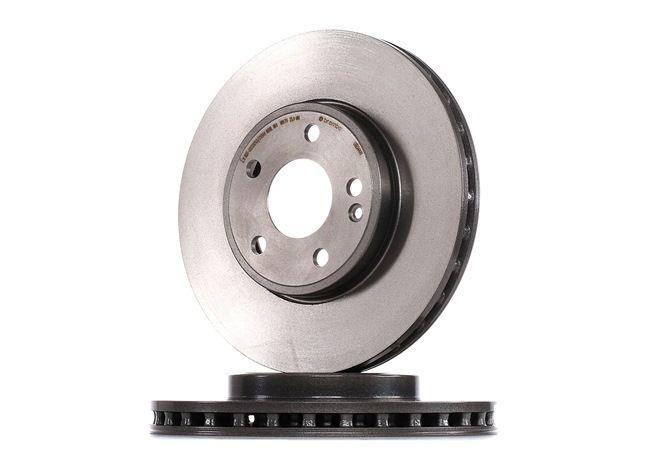 09.B344.41 BREMBO COATED DISC LINE Innenbelüftet, beschichtet, hochgekohlt, mit Schrauben Ø: 295mm, Lochanzahl: 5, Bremsscheibendicke: 28mm Bremsscheibe 09.B344.41 günstig kaufen