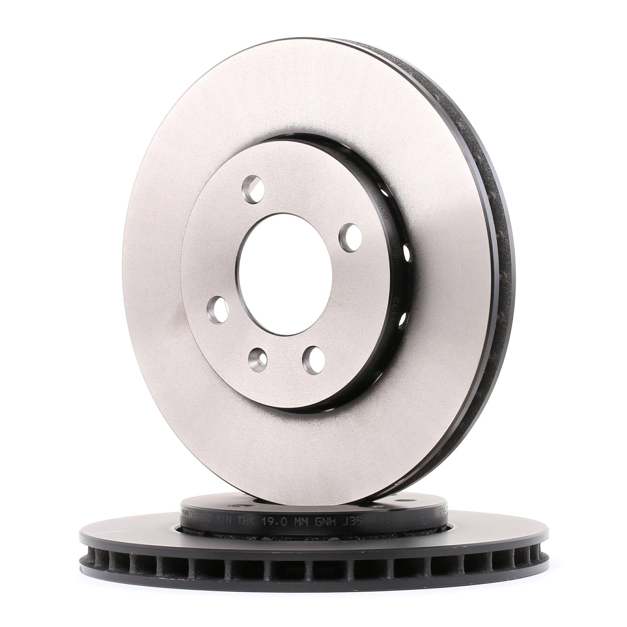 Achetez Disque TRW DF6252 (Ø: 256mm, Nbre de trous: 4, Épaisseur du disque de frein: 22mm) à un rapport qualité-prix exceptionnel
