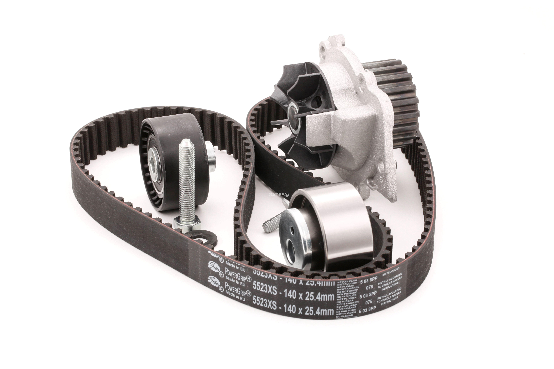 Water pump and timing belt kit KP25523XS buy 24/7!