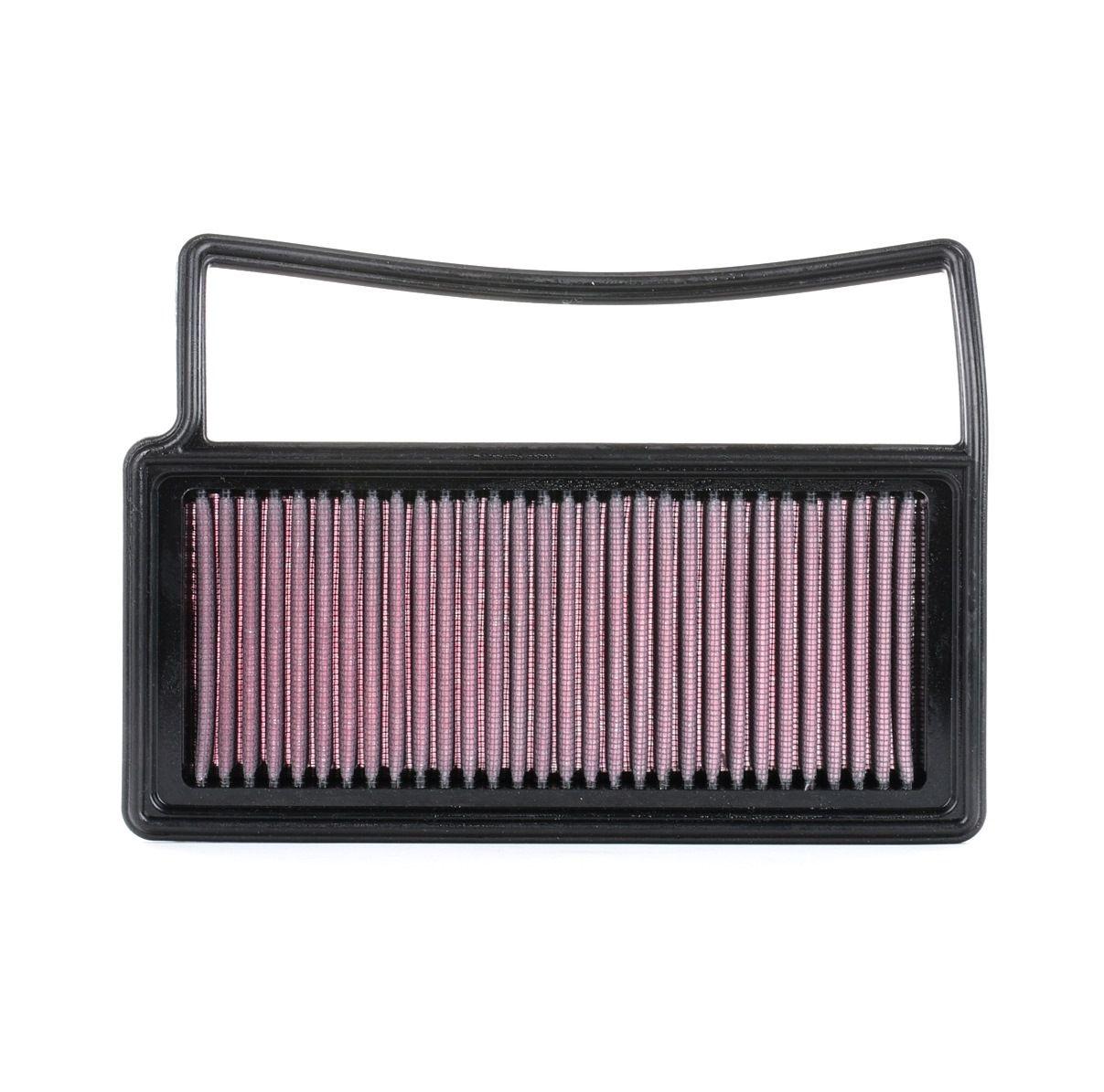 K&N Filters: Original Motorluftfilter 33-3014 (Länge: 238mm, Länge: 238mm, Breite: 171mm, Höhe: 30mm)