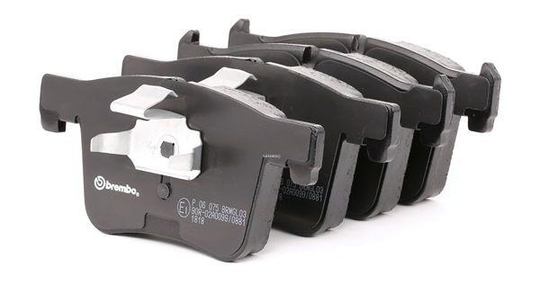 BREMBO: Original Bremsbelagsatz P 06 075 (Höhe: 69,9mm, Breite: 148,2mm, Dicke/Stärke: 19,2mm) mit vorteilhaften Preis-Leistungs-Verhältnis