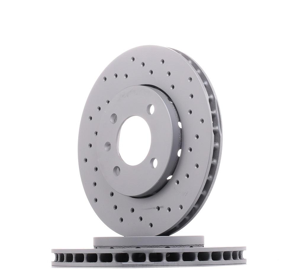 Achetez Disque de frein ZIMMERMANN 600.3250.52 (Ø: 256mm, Jante: 4Trou, Épaisseur du disque de frein: 22mm) à un rapport qualité-prix exceptionnel