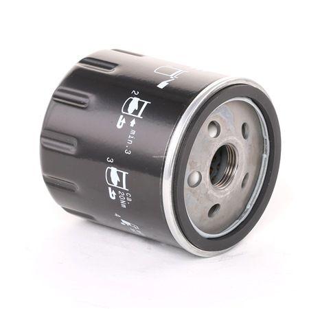 MAHLE ORIGINAL: Original Motorölfilter OC 978 (Innendurchmesser 2: 62mm, Außendurchmesser 2: 72mm, Ø: 76,0mm, Höhe: 80mm) mit vorteilhaften Preis-Leistungs-Verhältnis
